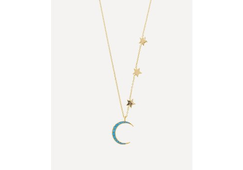 Estella Bartlett Estella Bartlett Moon and Stars Necklace