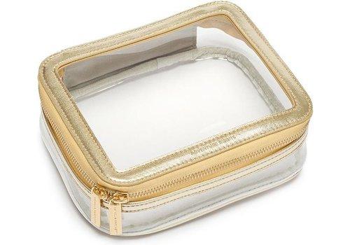 Estella Bartlett Estella Bartlett Travel Case Gold/transparent