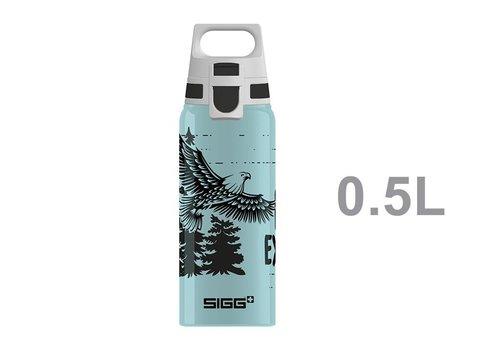 Sigg Sigg Teens Drinking Bottle Brave Eagle Blue with ONE cap 0.6l