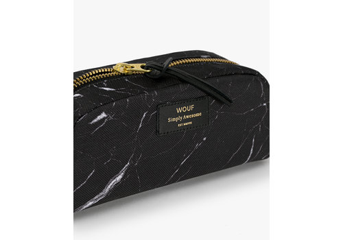 Wouf WOUF Black Marble Beauty Bag Small