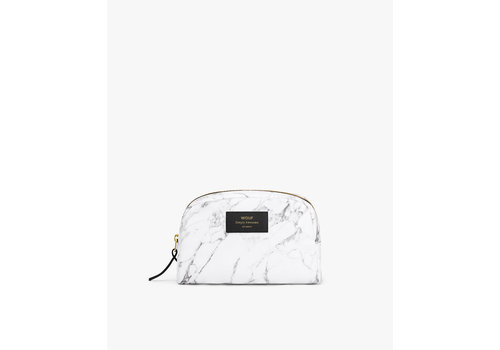 Wouf WOUF White Marble Small Beauty Bag