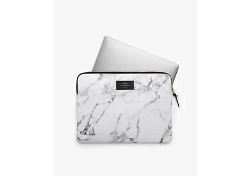 "Wouf WOUF White Marble Housse pour Ordinateur Portable 13"""