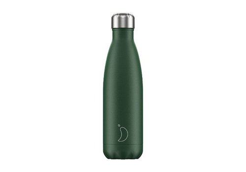 Chilly's Chilly's Double Walled Insulating Bottle Matte Green 500ml