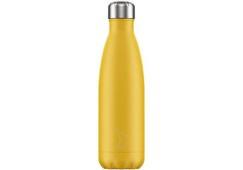 Chilly's Chilly's Double Walled Insulating Bottle Matte Burnt Yellow 500ml