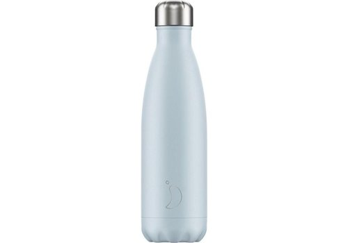 Chilly's Chilly's Double Walled Insulating Bottle Sky Blue Blush Edition 500ml