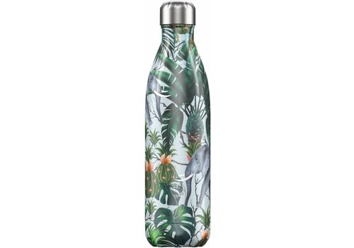 Chilly's Chilly's Dubbelwandige Isoleerfles Tropical Elephant 500ml