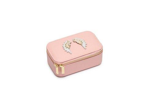 Estella Bartlett Estella Bartlett Jewelry Box Wings Blush Roze