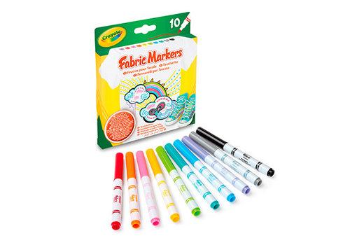 Crayola Crayola 10 Textielstiften Permanent
