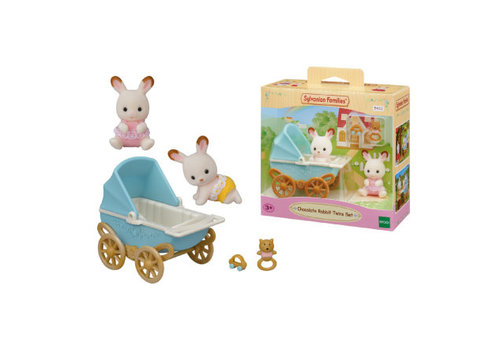 Sylvanian Families Sylvanian Families  Chocolate Rabbit Twins Set