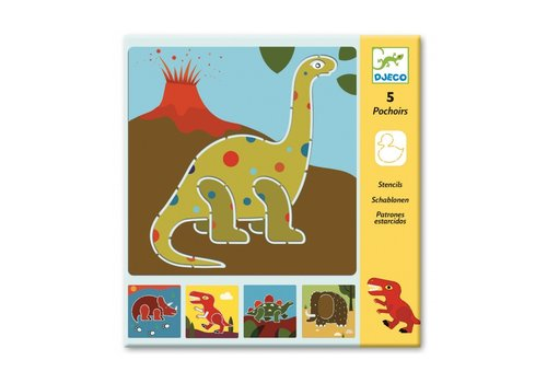 Djeco Djeco Stencils Dinosaurs