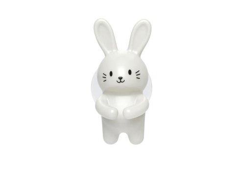 Kikkerland Kikkerland Toothbrush Holder Rabbit