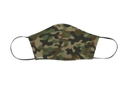 Fisura Fisura Face Mask Adults Camouflage