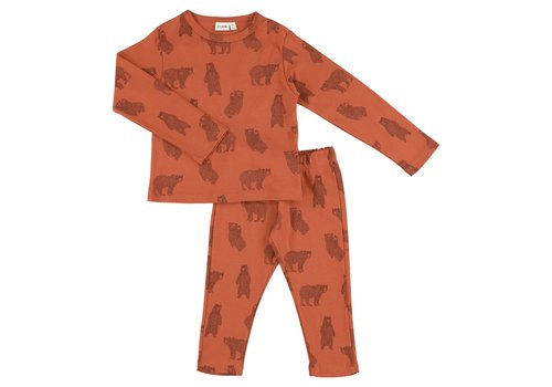 Trixie Trixie 2-piece Pyjama Brave Bear 6 years