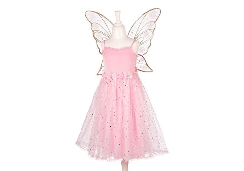Souza! Souza! Rosyanne Dress with Wings Pink 5-7 years