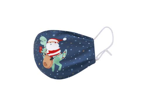 Legami Legami Mondmasker Kids Kerstman  Santasaurus