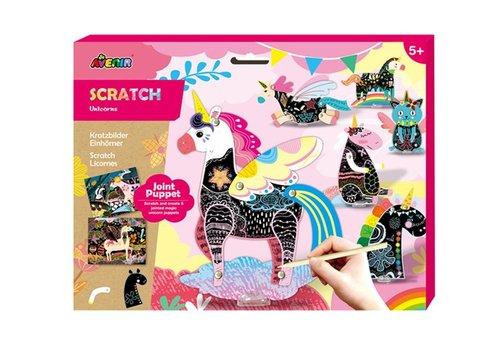 Avenir Avenir Scratch Marionet Unicorn