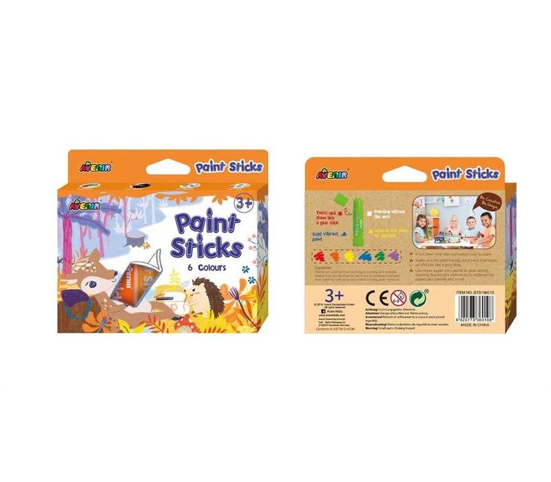 Avenir Paint Sticks 6 Colours