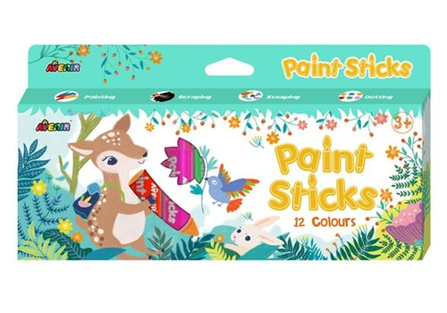 Avenir Avenir Paint Sticks 12 Colours