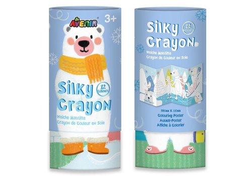 Avenir Avenir Silky Crayon 12 Colours Bear