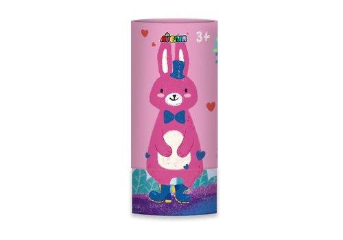 Avenir Avenir Silky Crayon 12 Colours Rabbit