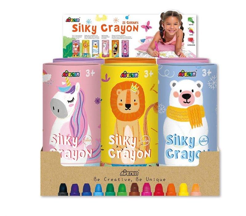 Avenir Silky Crayon 12 Colours Fox