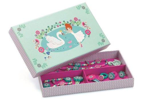 Djeco Djeco Box with 7 Jewels Swan Lake