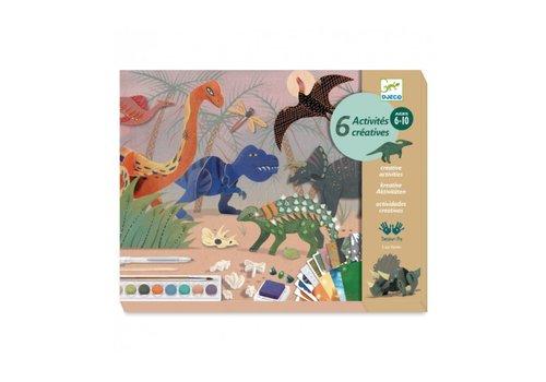 Djeco Djeco Knutselkoffer De Wereld van de Dinosauriërs