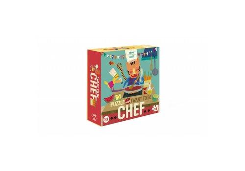 Londji Londji Puzzel I Want to be Chef 36 st