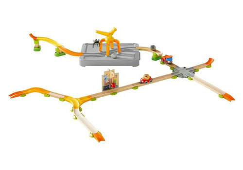 Haba Haba Kullerbü Play Track Open Road with Loading Crane Special Edition