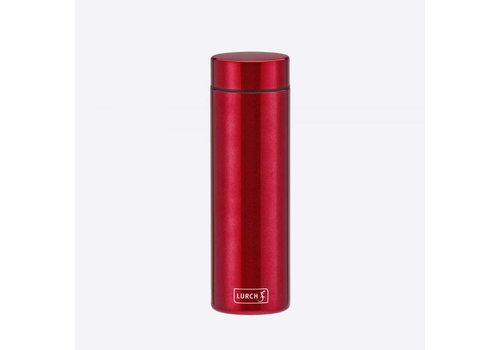 Lurch Lurch Lipstick Double Walled Drinking Bottle SS Cherry Red 300 ml