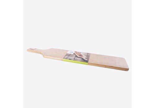 Point-Virgule Point-Virgule Bamboe Serveerplank met Ring en Lederen Koord 90 cm
