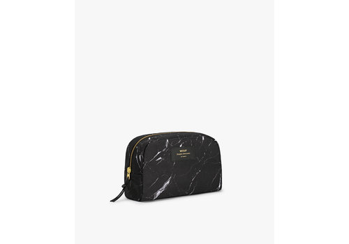 Wouf WOUF Make up Tas Black Marble