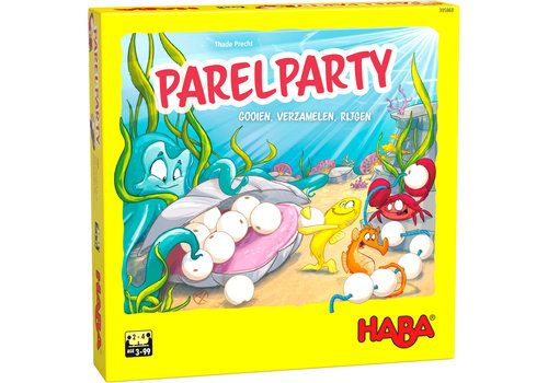 Haba Haba Pearl Party Collect and Threading Game