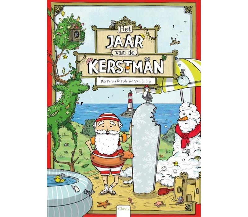 Clavis Leesboek Het Jaar van de Kerstman