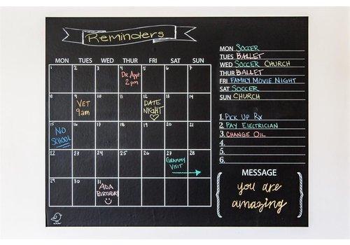 Jaq Jaq Bird Jaq Jaq Bird Krijtbord met Kalender