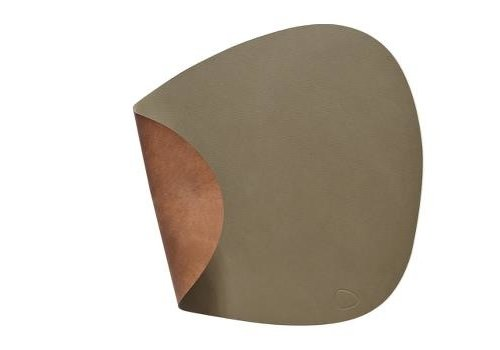 LIND DNA LIND DNA Placemat Curve L Nupo Army Green/Nature