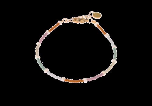 Label Kiki Label Kiki Armband Rainbow Pearl
