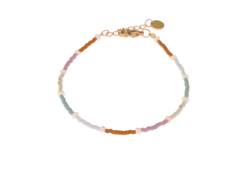 Label Kiki Label Kiki Bracelet Rainbow Pearl