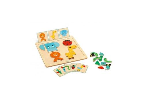 Djeco Djeco Géobasic Magnetic Game