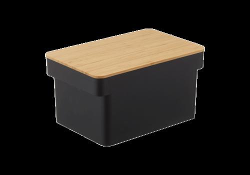 Yamazaki Yamazaki Bread Case with Knife Tower Black
