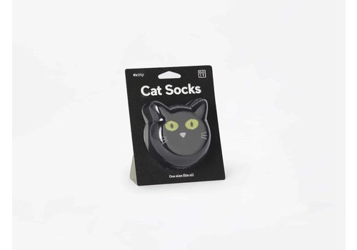 Doiy Doiy Cat Socks Black One Size