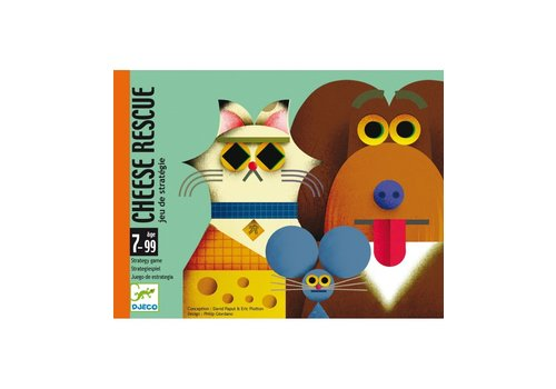 Djeco Djeco Cardgame Cheese Rescue Strategy Game