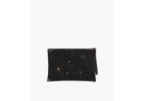 Wouf WOUF Galaxy Velvet Night Clutch