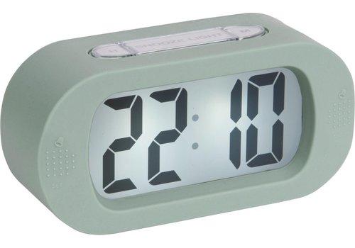 Karlsson Present Time Alarm Clock Gummy Groen