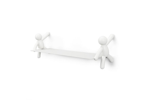 Umbra Umbra Buddy Shelf White 46 cm