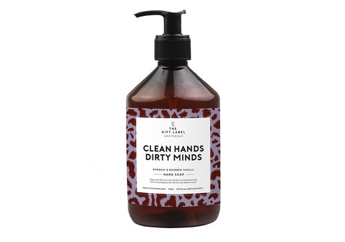The Gift Label The Gift Label Hand Soap Clean Hands Dirty Minds 500 ml