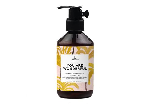 The Gift Label The Gift Label Hand Lotion You are Wonderful 250 ml
