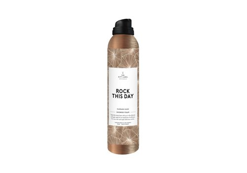 The Gift Label The Gift Label Shower Foam Rock This Day 200 ml