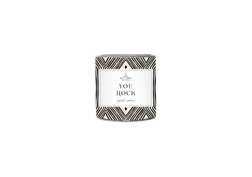 The Gift Label The Gift Label Scented Candle in Tin You Rock 90 g