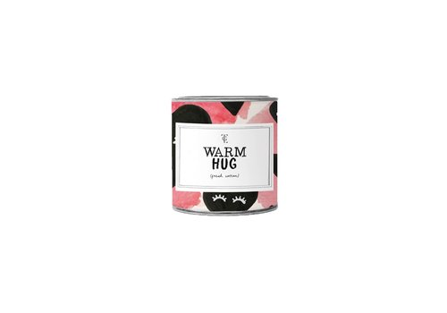 The Gift Label The Gift Label Geurkaars in Blik Warm Hug 90 g